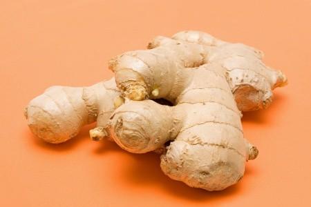 ginger root helps nausea gluten and migraines