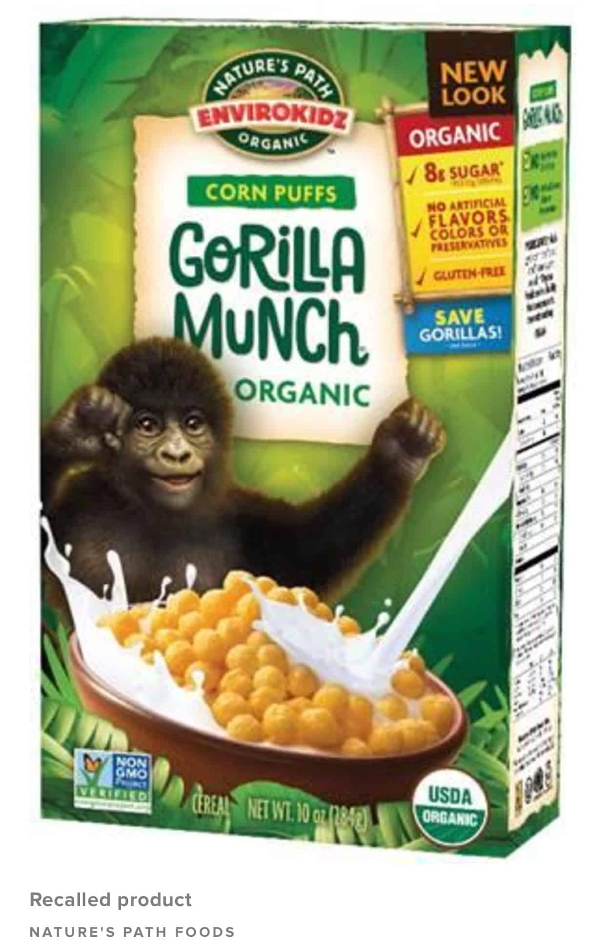General Mills Cereal Recall 2019