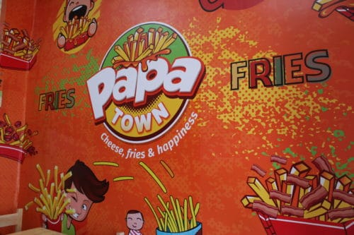 papatown fry shop Gluten free in Ecuador