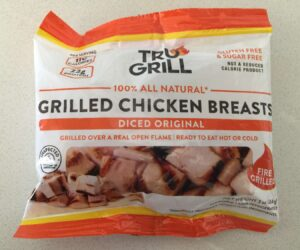 Package of Tru Grilled Chicken Breast