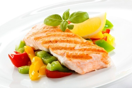 chicken skin rash can be helped by omega 3 fatty acids- image is of salmon which is high in omega 3 fatty acids