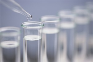 a test for celiac disease is a simple screen blood test. This is an image of test tubes for a test