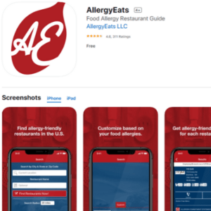 Allergy Eats Coronavirus free apps