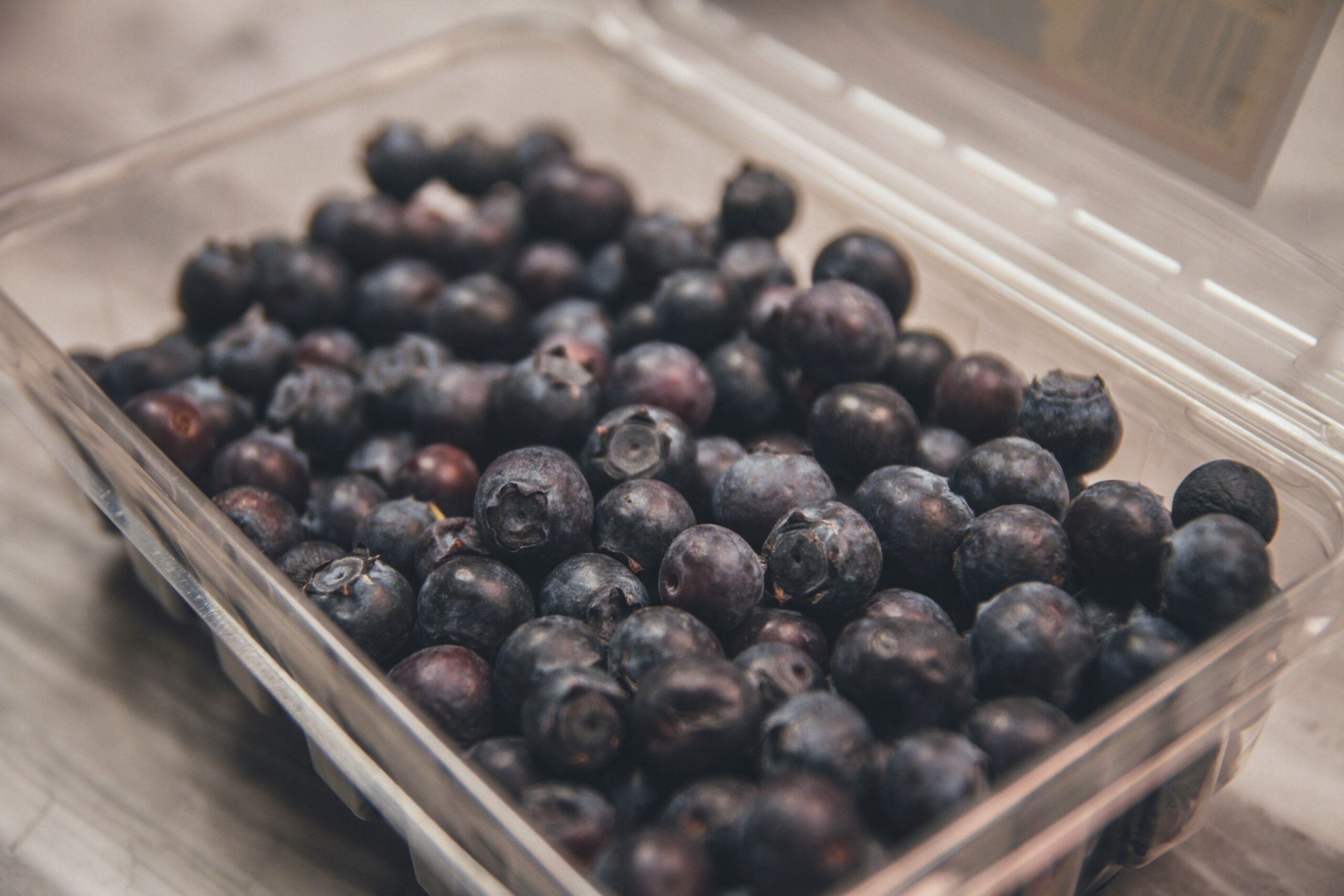 A container of blueberries is an example of foods to help with autoimmune diseases